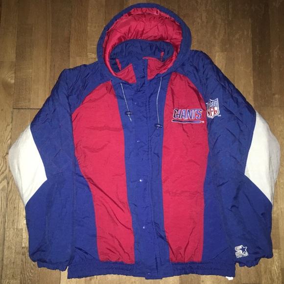 STARTER Other - New York Giants Starter Winter Jacket
